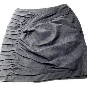 Nanatte Lepore Shirred & Pleated Pencil Skirt